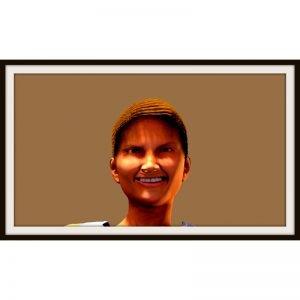 Yvette hat gut lachen